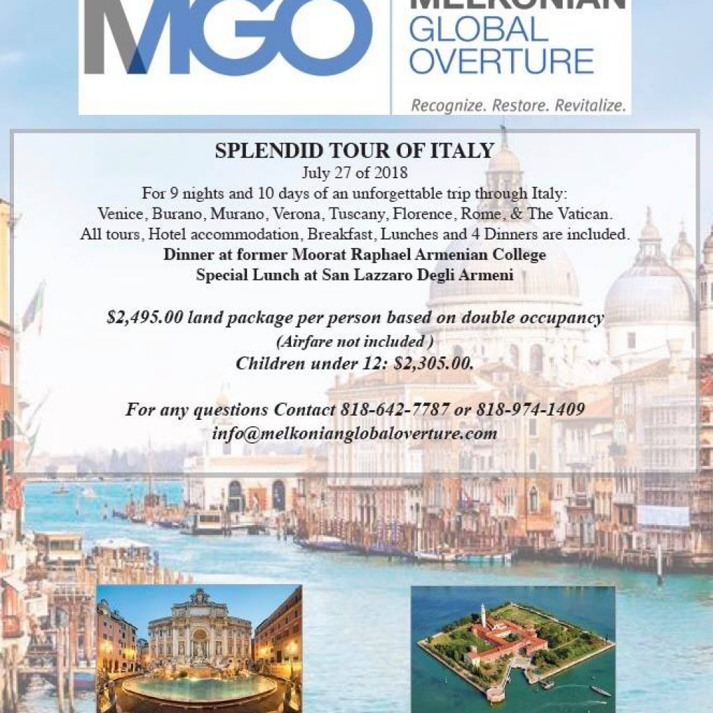 Living Diaspora Melkonian Global Overture MGO