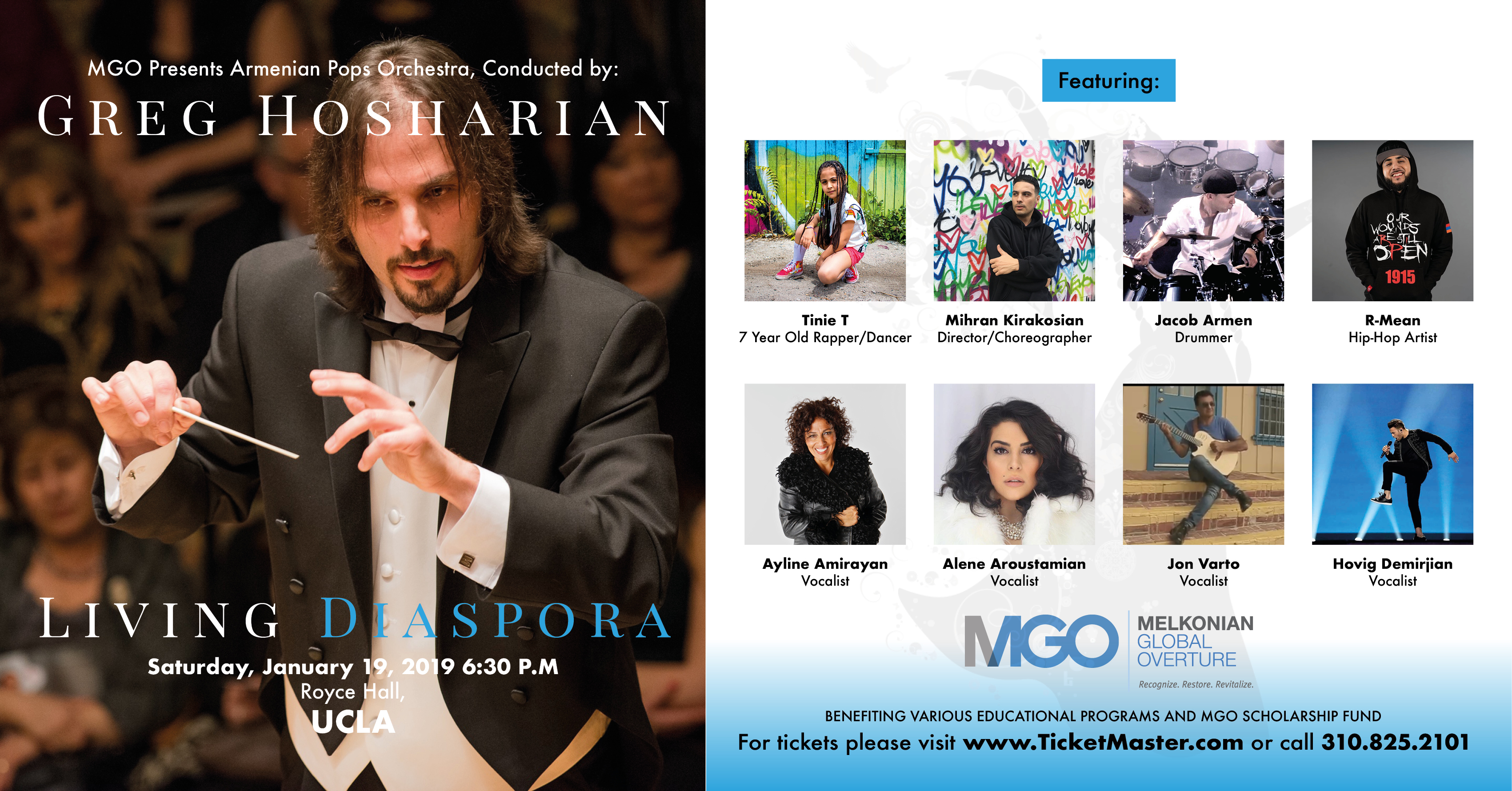 Living Diaspora - Melkonian Global Overture Supporting Armenian Language, Culture And Youth